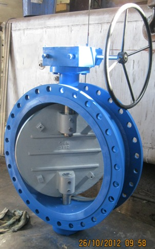Butterfly Valve Double Flanged End Manufacturer Exporter in India