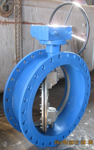 Butterfly Valve Double Flanged End Manufacturers Exporters in India
