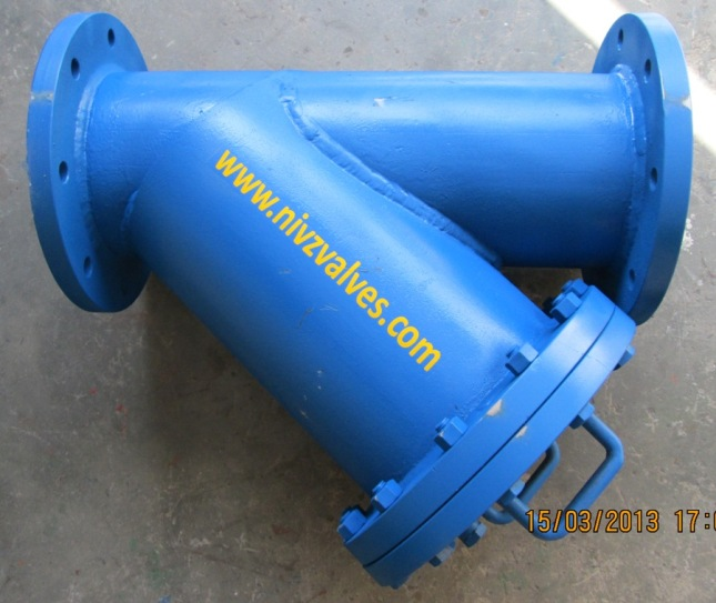 Fabricated Y Strainer Manufacturer Exporter Supplier Stockiest India