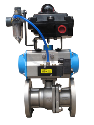 Pneumatic Actuator Remote Operated Ball Valve Manufacturer Exporters Suppliers Stockiest India