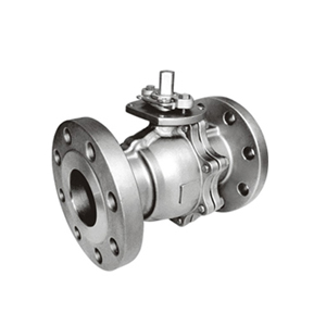 Ball Valve Two Piece Design Fire Safe Flanged End Manufacturer Exporters in India